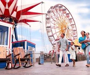 Pleasure Pier. Photo courtesy of Galveston CVB
