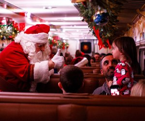 Travel to the North Pole on the magical Polar Express. Photo courtesy of the Whippany Railroad