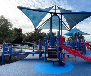 The Best Playgrounds with Shade in Los Angeles: Polliwog Park