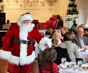 Brunch With Santa. Photo courtesy of Pond House Cafe