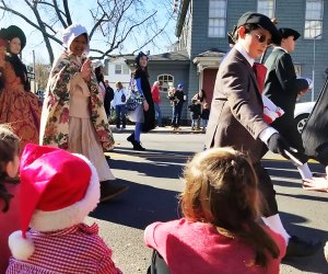 Experience a Victorian Christmas at the annual Charles Dickens Festival in Port Jefferson. Photo courtesy of the festival