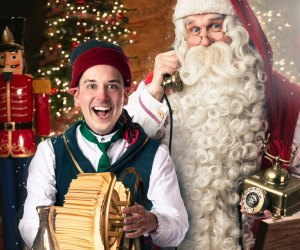 Santa and the elves are available for phone or video calls.