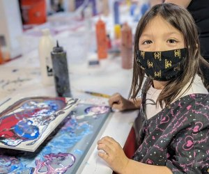Get creative at a summer art camp at Portside Arts Center. Photo courtesy of the center