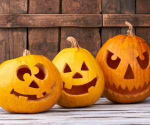 Pumpkin carving is a must-do Halloween activity - and an annual highlight for many kids