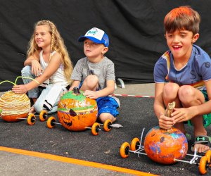 Manhattan Beach Pumpkin Race. Photo courtesy of Manhattan Beach Parks & Rec