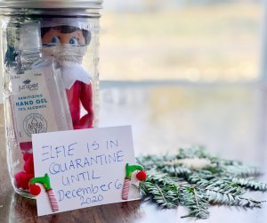 Elf of the Shelf is in quarantine