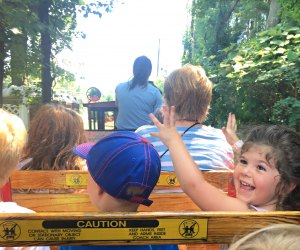 Enjoy the rides at the Quassy Amusement Park. Photo by Makayla O'Keefe/Mommy Poppins