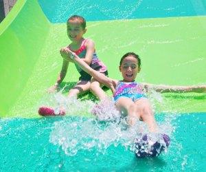 Splash down the Tunnel Twister at Quassy. Photo Courtesy of Quassy Amusement Park