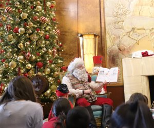 Enjoy breakfast and a story from Santa at The Queen Mary. Photo courtesy of The Queen Mary
