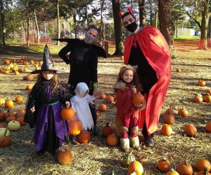 It's a monster mash at the Queens County Farm Museum's thrilling Halloween on the Farm events. Photo courtesy of the museum