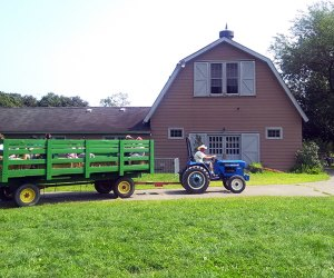 A visit to the Queens County Farm Museum is one of our must-due fall activities