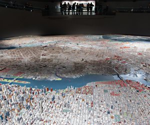 Gaze at the famous Panorama of NYC.