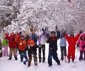 Explore nature at the Quogue Wildlife Refuge's Winter Wildlife Camp. Photo courtesy of the wildlife refuge