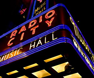Radio City Music Hall in Midtown NYC has a timeless appeal and a packed calendar of kid-friendly entertainment.