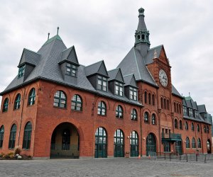 The Central Railroad of New Jersey Terminal Liberty State Park