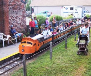 Ride a train at the Railroad Museum of Long Island