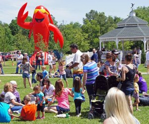 Enjoy a full day of crawfish and family-friendly fun at the historic Downtown Railroad Depot in Tomball./Photo courtesy of Tomball Texan for Fun.