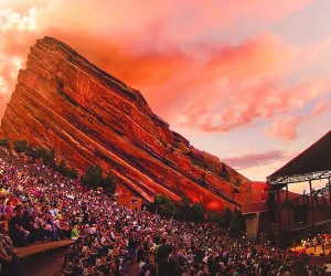 The view is always great at Red Rocks Amphitheatre. Take in a show, or climb (or jog) the steps when no one is around.