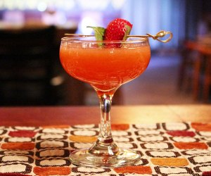 Enjoy a cocktail at Red Rooster Cafe