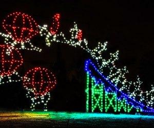 magic of lights at jones beach