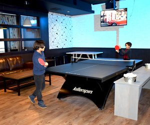 The two private areas at SMASH are ideal for parties and other gatherings.