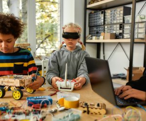 STEM-based learning centers offer kids access to tools that many kids don't ever get to enjoy and learn from.