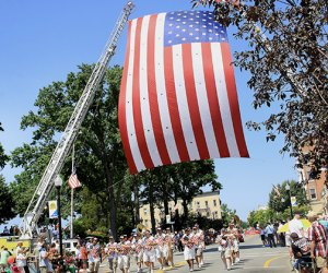 Ridgewood's 4th of July festivities kick off with a patriotic parade. Photo by EBoechat via Flickr