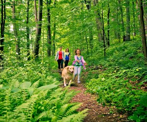Take a hike at Ridley Creek. Photo courtesy of Visit Philadelphia
