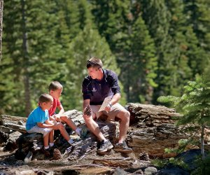 Ritz Kids study breaks happen in the best locations. Photo courtesy of The Ritz-Carlton Reynolds, Lake Oconee