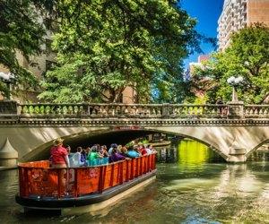 River Boat Tour in San Antonio. Photo courtesy of Visit San Antonio