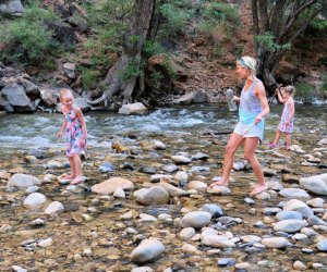 Kids can splash in rivers and enjoy gorgeous scenery on a national park family getaway