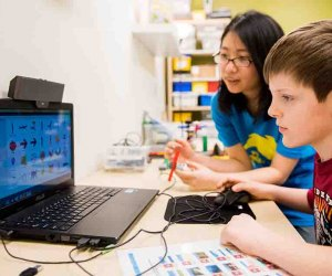 RoboFun offer coding classes for kids that teach game design, Lego robotics, and more.