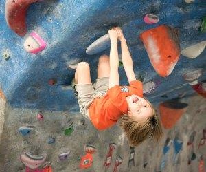 Don't climb mom's walls; climb these! Photo courtesy of Rock Spot Climbing