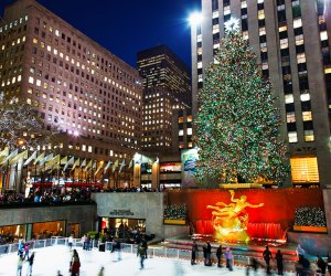 The Rockefeller Center Ice Rink Best Ice Skating Rinks in NYC for Kids and Families