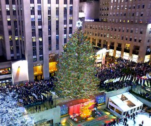 The most celebrated of Christmas trees, the Rockefeller Center Christmas Tree, is a classic New York City destination.  Photo courtesy of Rockefeller Center