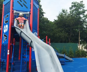 Blast off to a good time at Rocketship Park in Port Jefferson. Photo by the author