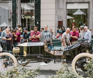 Let Dad geek out at the cars at Rodeo Drive's Concours D'Elegance. Photo courtesy of the event