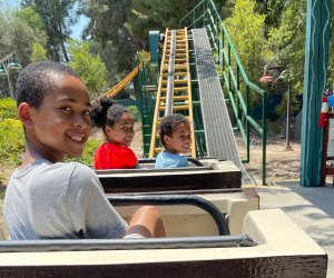 There are rides that delight tots and teens at Six Flags.