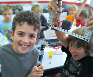 Rolling Robots brings the STEM fun. Photo courtesy of Rolling Robots