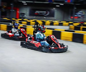 Adrenaline-fueled tweens will thrill to the go-karts at RPM Raceway. Photo courtesy of the raceway