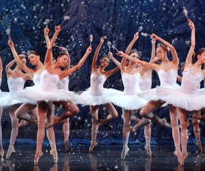 Snowflakes swirl in The Great Russian Nutcracker. Photo courtesy of NJPAC.