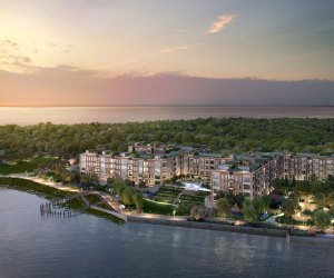 The Beacon at Garvies Point sits on 56 waterfront acres of the Gold Coast of Long Island.