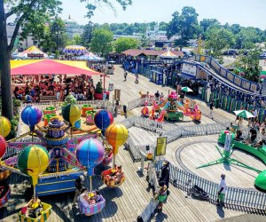 Rye Playland has a classic amusement park look