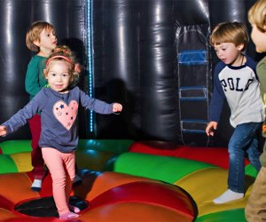 Enjoy the safe toddler bounce area at Safari Adventure. Photo courtesy of Safari Adventure