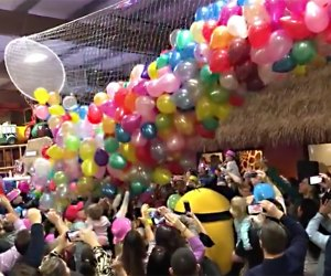 Safari Adventure's New Year's Eve  includes a balloon drop, superheroes, music, and more.