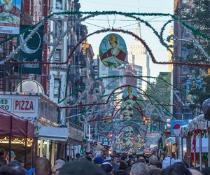 San Gennaro is one of two huge Italian fests taking over city streets this September. Photo by Joe Buglewicz for NYCGO