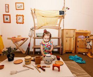 Entertain your little one and enjoy the cafe atmosphere at Sandbox Playspace.