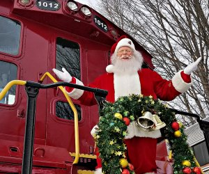 Polar Express and Christmas Trains in New England in 2020