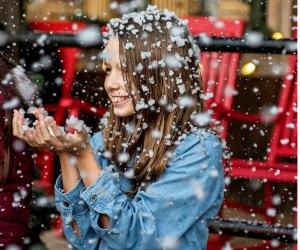 Let it Snow! Photo courtesy of Santa's Wonderland