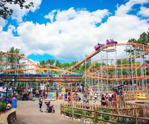 Best Amusement Parks in the Chicago Area for Families: Santa's Village Azoosment & Water Park wide shot